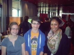 von links: Franziska Labes, Nico Schlaak und Sina Fietze